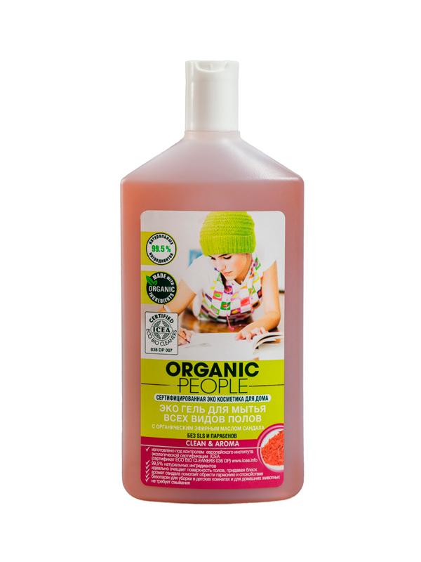 Эко гель для мытья всех видов полов, Organic People 500 мл