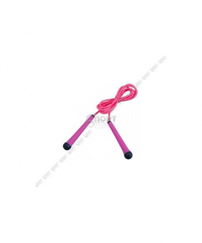 Скакалка cкоростная с плаcтиковой ручкой (SF3001)
