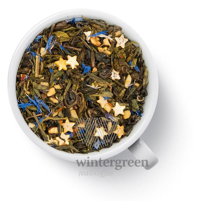 35012 Чай Gutenberg зеленый ароматизированный Пряничный 250 г