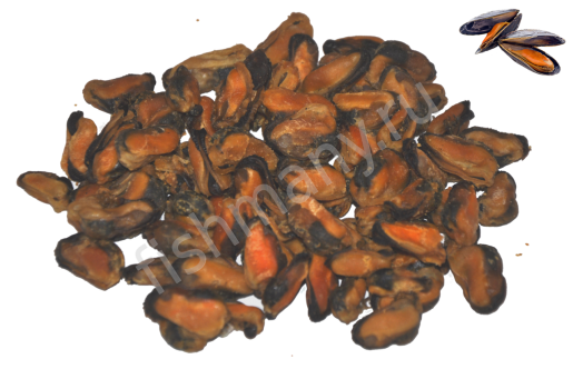 Мидии сушено вяленые 1кг(заказ 0,25кг)