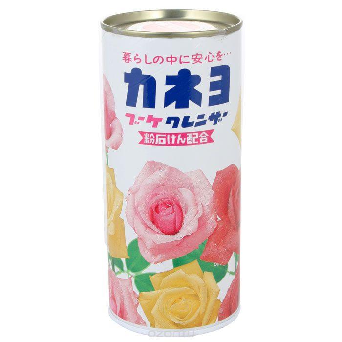 210056 KANEYO Порошок чистящий, для кухни и ванны, с ароматом цветов, 400 г