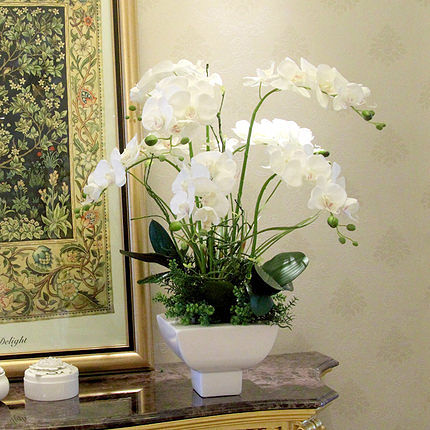 Композиция орхидея, высота 60 см