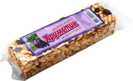 ХРУМСТИК рисовый с изюмом (вес 35 гр)