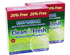 "Порошок для ПММ ""Clean&Fresh"" 1000 г 5 в 1"
