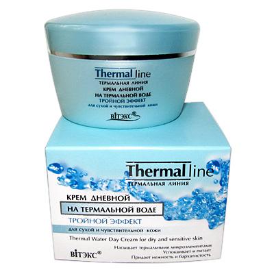 """""""Thermal Line"""" Крем дневной для сухой и чувствительной кожи 45 мл"""