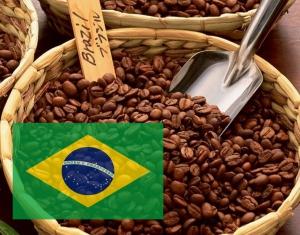 Кофе Бразилия Сантос 250 г зерно