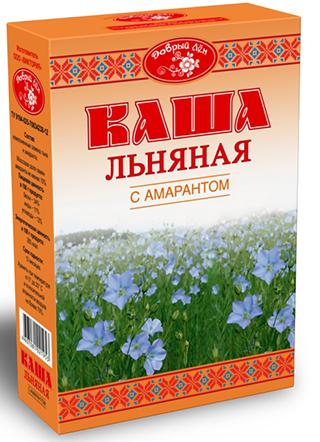 """Каша льняная с амарантом """"Добрый лен"""" 400 г"""