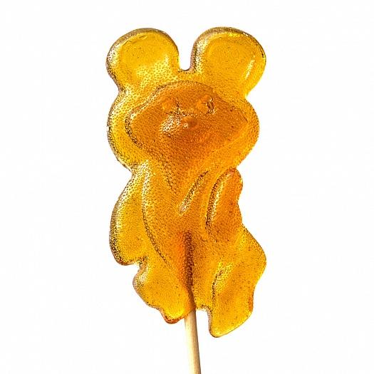 Карамель леденцовая «фигурная» (на деревянной палочке) «Мишка 80» 30 г