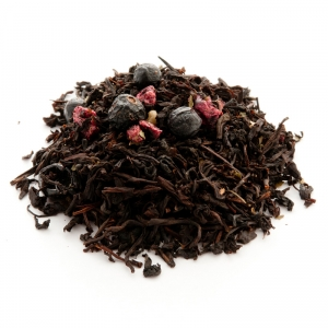Черный ароматизированный чай Черная смородина 250 г