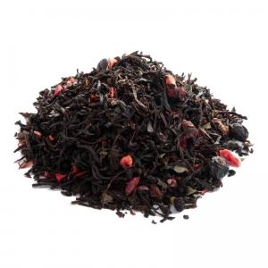 Черный ароматизированный чай Лесная ягода 250 г