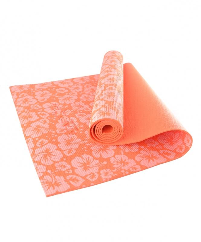 Коврик для йоги и фитнеса с рисунком (173х61х0,4см) SF3619EM