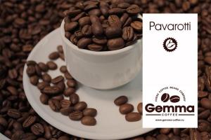 Кофе Pavarotti 100% Арабика (темная обжарка) 250 г зерно