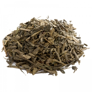 Зеленый ароматизированный чай Сенча молочная 250 г
