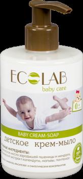 Детское крем-мыло 0+ EcoLab 300 мл