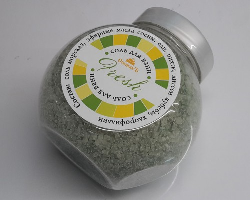 Соль для ванн Fresh