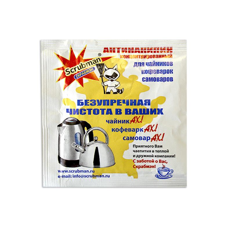 Концентрированный биоочиститель для чайниковScrubma 20гр В НАЛИЧИИ