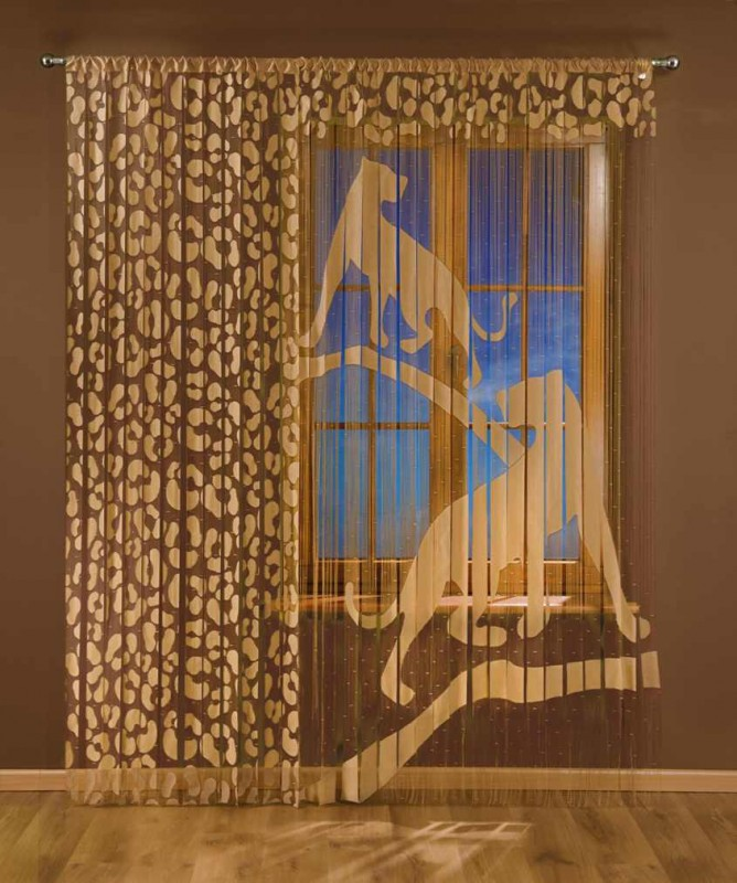 3331 А, Puma (Пума), дизайнерская панель, размеры: (90 см ширина * 240 см высота) + (150 см ширина * 240 см высота)