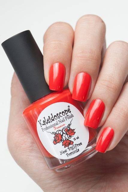 "Kaleidoscope Лак для ногтей ""Красотека"" №Кr-03 Алые паруса 15 мл"