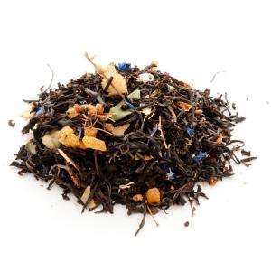 Черный ароматизированный чай Липовый цвет 100 г в наличии