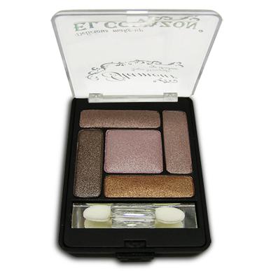 El Corazon 5-ти цветные тени для век Glamour №4
