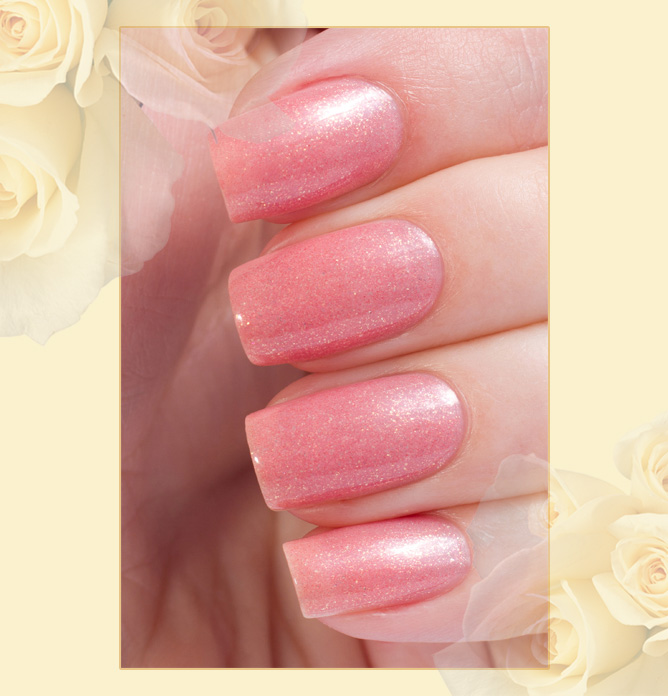 Active Bio-gel Color gel polish  Shimmer № 423/5