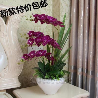 Композиция из орхидей, 65*45 см