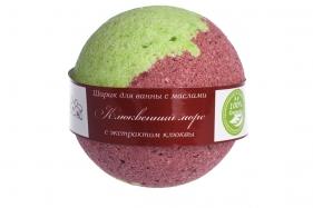 Бурлящий шарик для ванны с маслами Клюквенный морс, шт