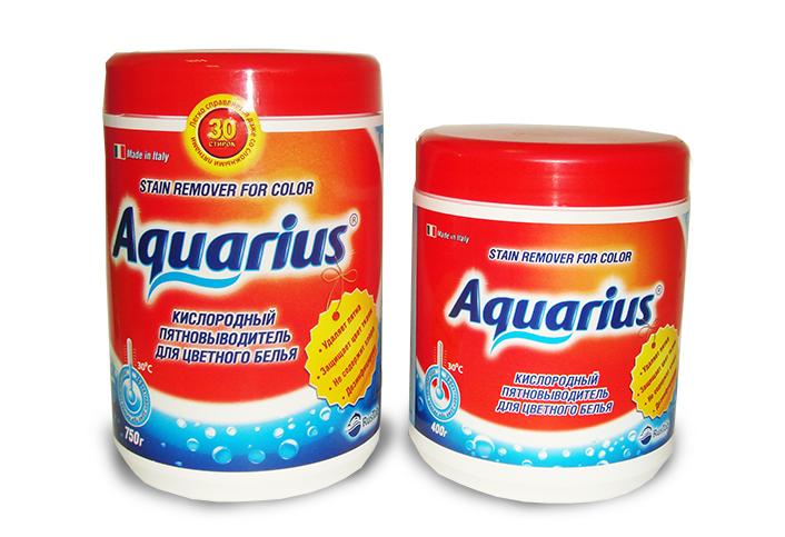 """Пятновыводитель для цветного белья """"AQUARIUS OXY"""" Италия 750 г"""