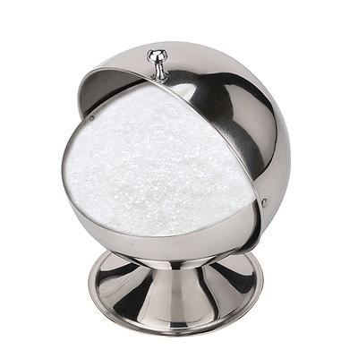 Сахарница хромированная