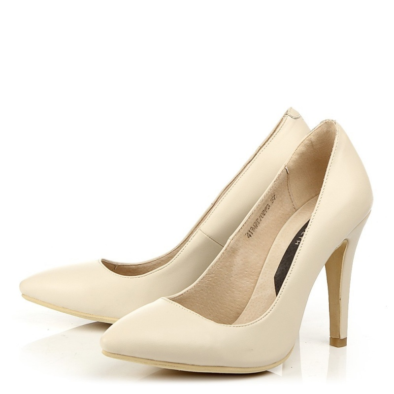 женские бежевые туфли J&Elisabeth