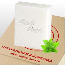 """Натуральное мыло """"Мятное снежное"""" 100г"""