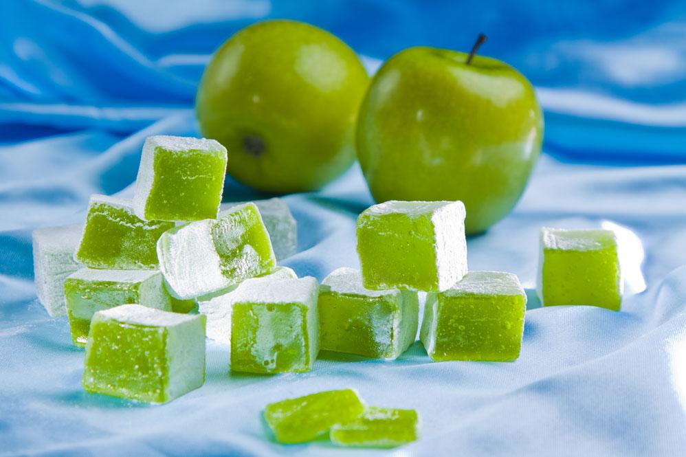 Лукум яблочный 0,5 кг в наличии