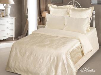 "Артикул: 047. Комплект постельного белья (КПБ) из сатин-жаккарда \""Тайна\"""