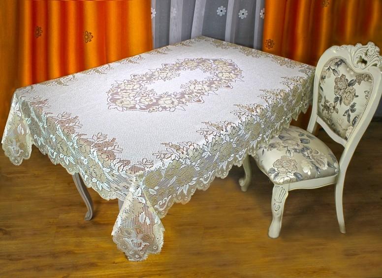 030 В, ERAZМ, (Эразм), прямоугольная, размер 140 см * 180 см, цвет крем/темное золото
