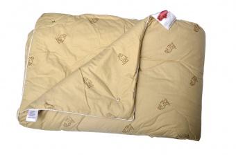 """124 Одеяло Premium Soft """"4 сезона"""" Camel Wool (верблюжья шерсть) евро"""