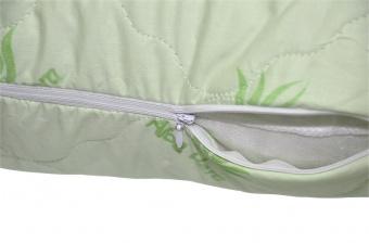 """371 Подушка Premium Soft """"Стандарт"""" Aloe vera (алоэ вера, на молнии) 50х70"""