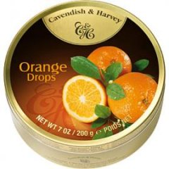 """Леденцы \""""C&H\"""" апельсин 200г в наличии"""