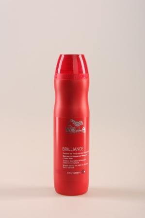 Wella BRILLIANCE Шампунь для окрашенных нормальных и тонких волос 250 мл.