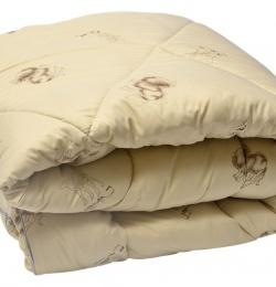 """Одеяло Medium Soft \""""Стандарт\"""" Camel Wool (верблюжья шерсть)"""