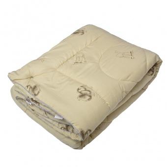 """224 Одеяло Medium Soft \""""4 сезона\"""" Camel Wool (верблюжья шерсть)"""