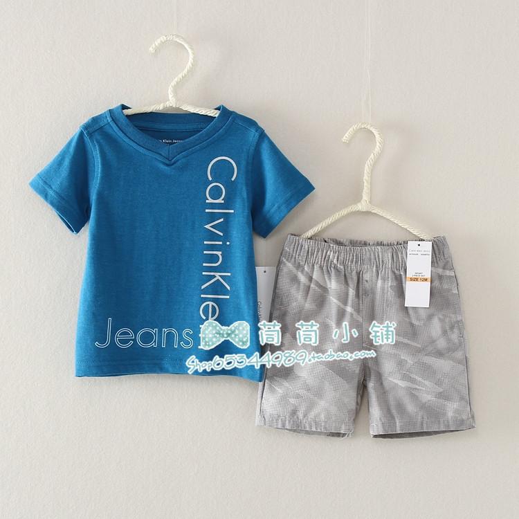 Комплект для малышей, майка+шорты
