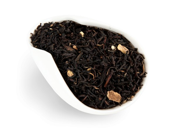 Черный ароматизированный чай с имбирем 250 г
