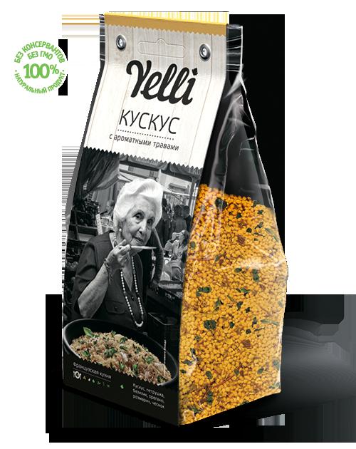 Кускус с ароматными травами 250г Yelli