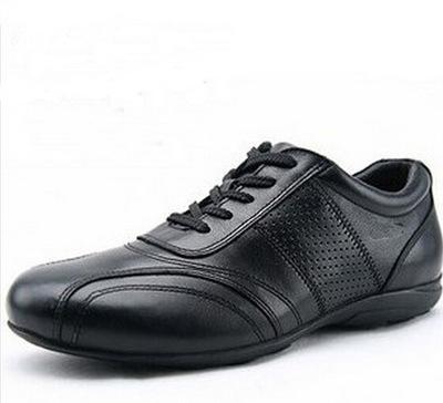 Мужские кроссовки кожа