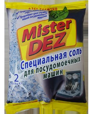 Mister DEZ соль для посудомоечных машин 2 кг