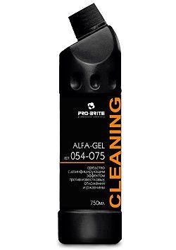 Alfa-gel Средство с дезинфицирующим эффектом против известковых отложений и ржавчины (0,75)