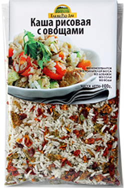 Каша рисовая с овощами 100 г