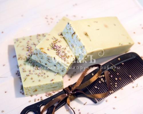 Цветочное мыло-шампунь уценка