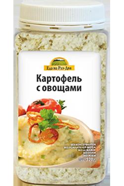 Картофельное пюре с овощами 320 г