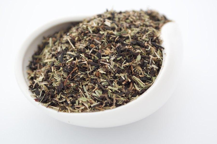 Черный ароматизированный чай Чабрец и Мята 250 г
